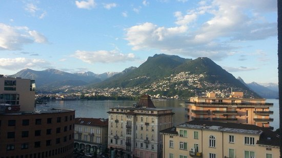 Ibis budget Lugano Paradiso: Vue de notre chambre