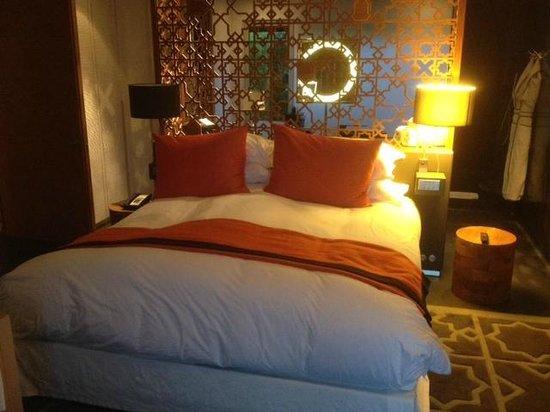 Sofitel Essaouira Mogador Golf & Spa: Le magnifique et confortable lit!
