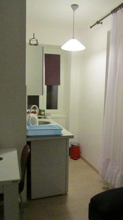Apartments Magdalena: Kitchenette