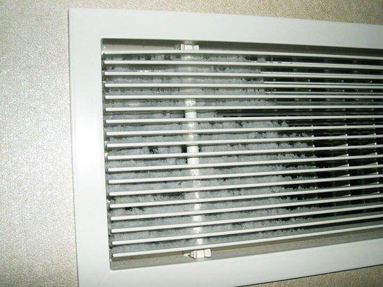 Hotel Okura Amsterdam : Staubflusen in der Klimaanlage
