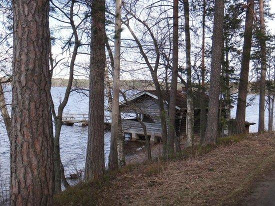 Holiday Club Saimaa : Озеро Сайма у отеля