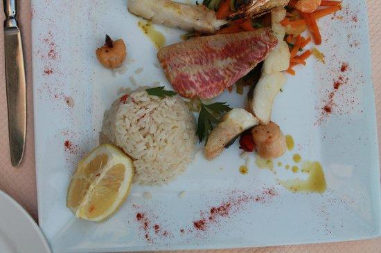 Le lodge : Fisherman's plate