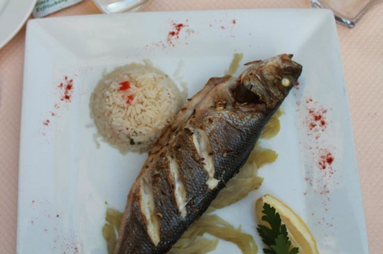 Le lodge : Grilled Seabass