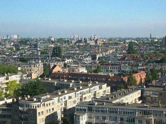 Hotel Okura Amsterdam : Blick auf Amsterdam