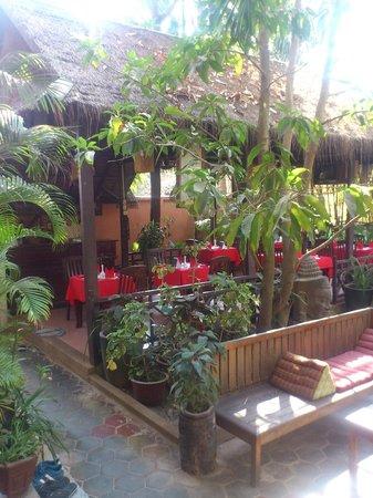 Golden Mango Inn : Garden
