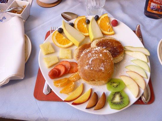 Brownes Bed & Breakfast Dingle: pancakes !
