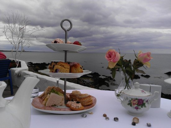 The White Cottages: Afternoon Tea View