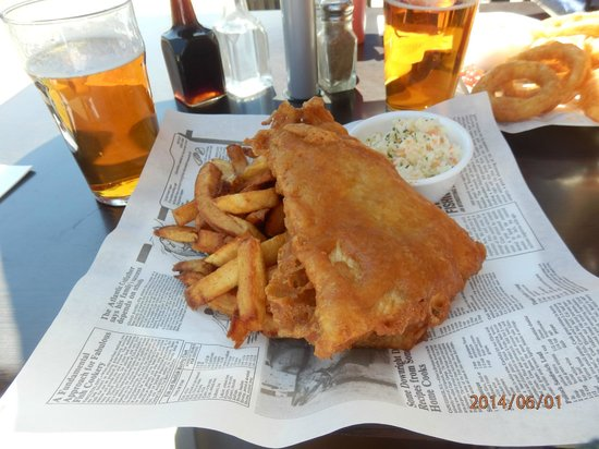 Water St. Fish & Chips : Yummy fish and chips!