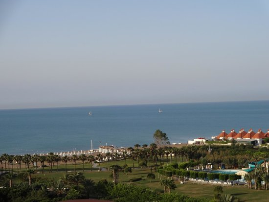 Kervansaray Lara Hotel : Sea View
