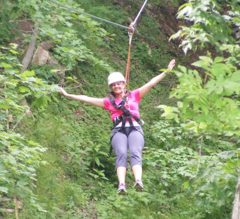 Harpers Ferry Zip Line Canopy Tour : Great fun
