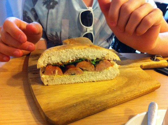 Quay Ingredient: Sausage stottie