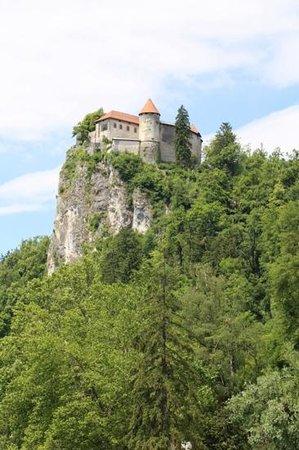 Castillo de Bled: its a long way up