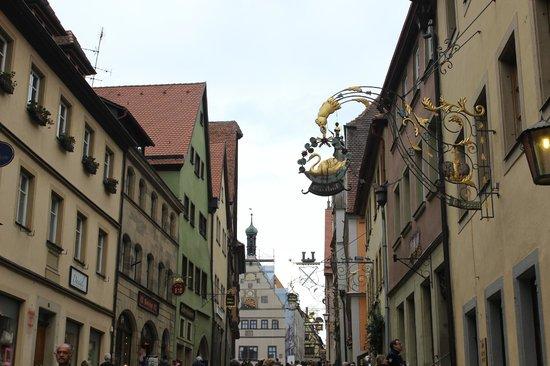 Schmiedgasse: vista da rua
