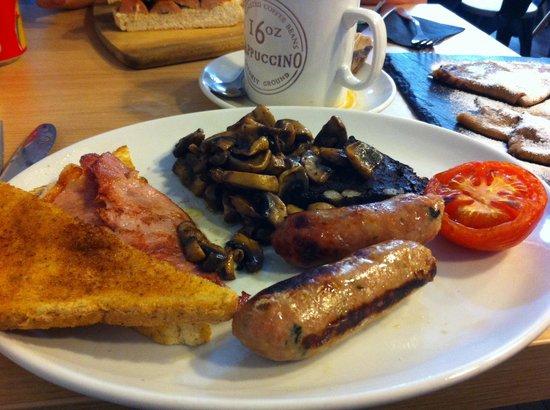 Quay Ingredient: Full breakfast