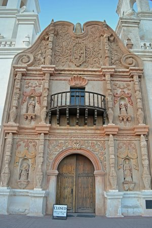 Mission San Xavier del Bac: Front of the Mission