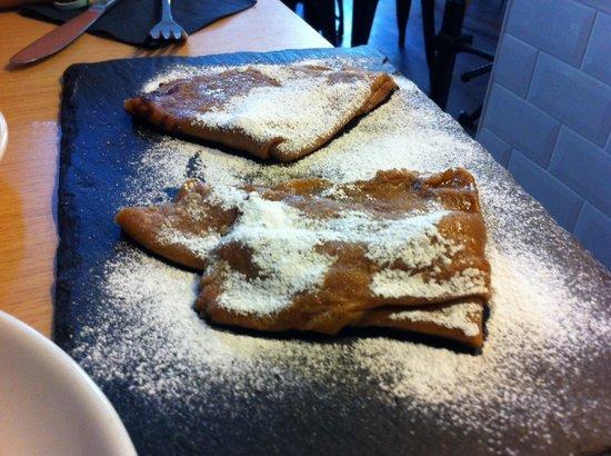 Quay Ingredient: Cinnamon pancakes
