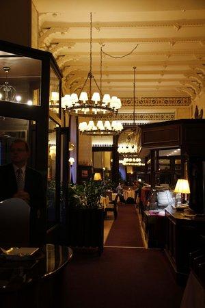 Múzeum Cafe and Restaurant : et l'entrée l'autre aile