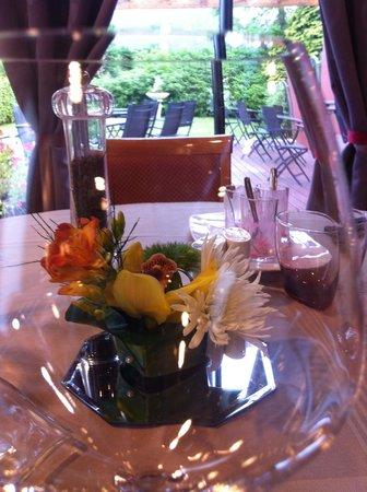 Auberge de la Houssaye : salle de restaurant