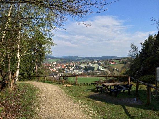 Sporthotel Am Pfahl: Der Große Pfahl bei Viechtach!