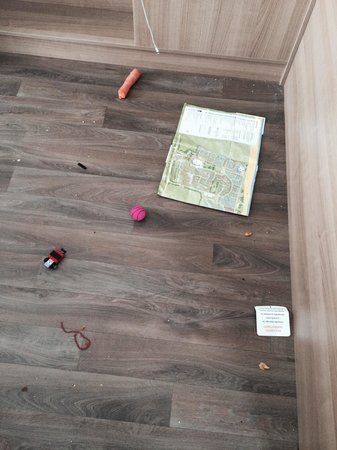 Caister-on-Sea Holiday Park - Haven: Filthy floor