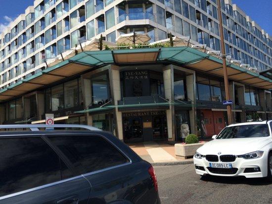 Tse Yang: The. Restaurant from outside