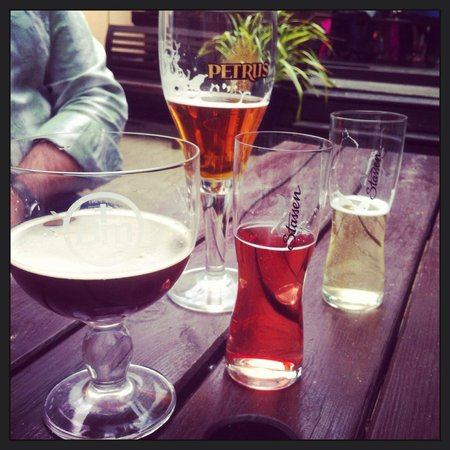 The Belgian Monk: First round!