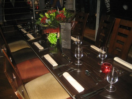The Ivory Rooms Restaurant: table was well turned out