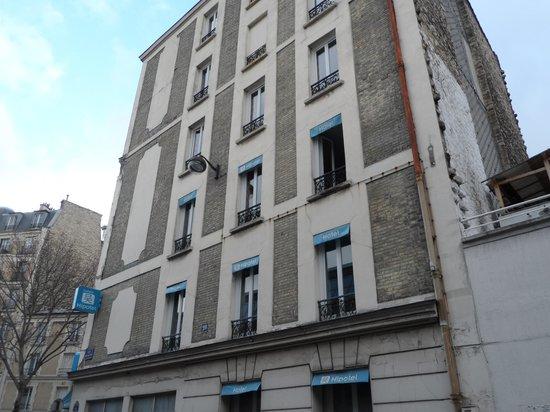 Belgrand Hotel: Esterno laterale Hotel