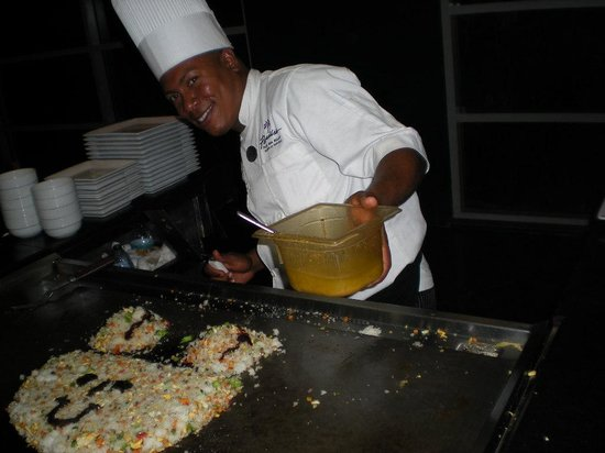 The Reserve at Paradisus Palma Real: Mickey Mouse Fried Rice