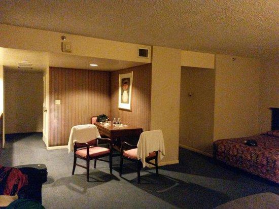 River Park Hotel & Suites Downtown/Convention Center: Papel de parede na decoração!