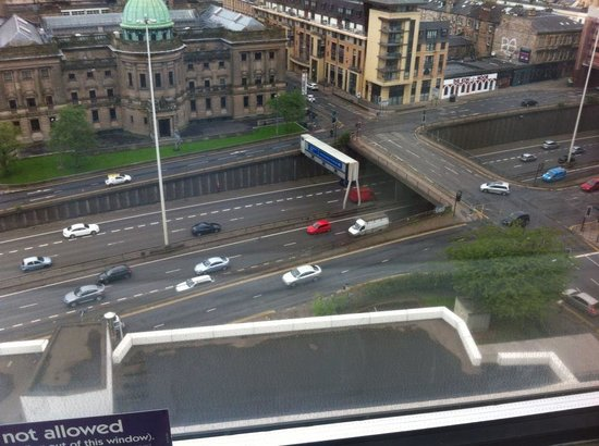 Premier Inn Glasgow City Centre (Charing Cross) Hotel: window view