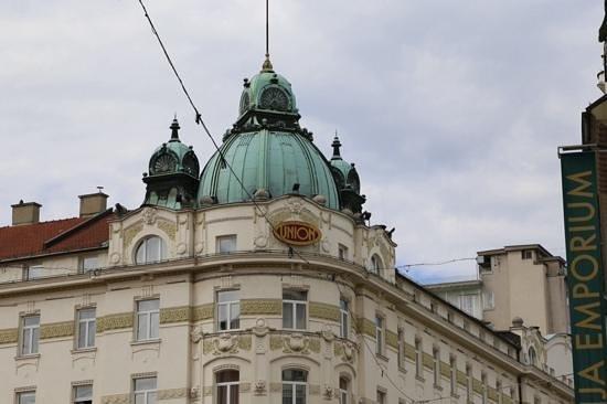 Grand Hotel Union: great location