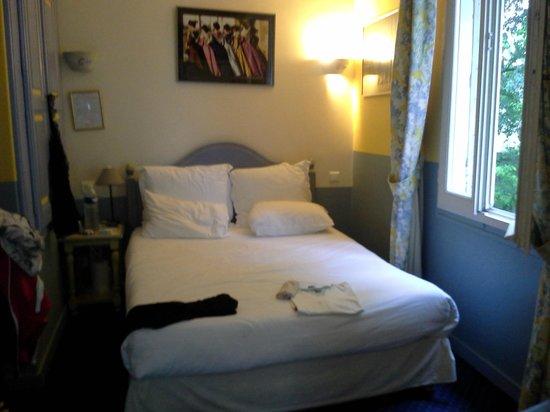 Hotel Spa Le Calendal: Notre chambre donnant sur le jardin intérieur