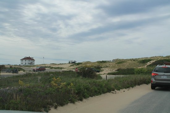 Cape Cod National Seashore: cold afternoon but a sweater will do