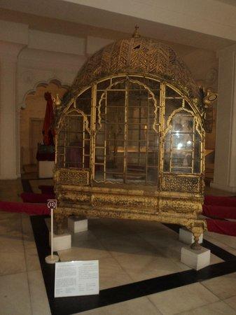 Forteresse de Meherangarh : One of the displays