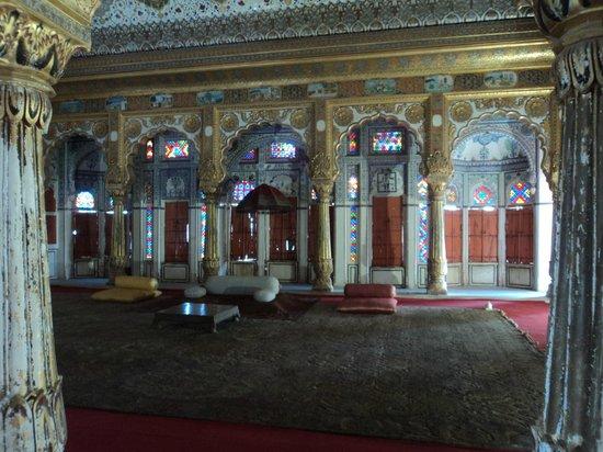 Forteresse de Meherangarh : The palace of pleasure