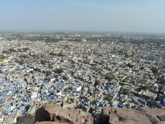 Forteresse de Meherangarh : Looking out from the walls