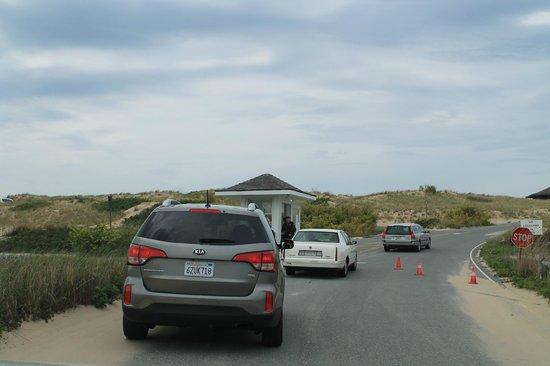Cape Cod National Seashore: entrance