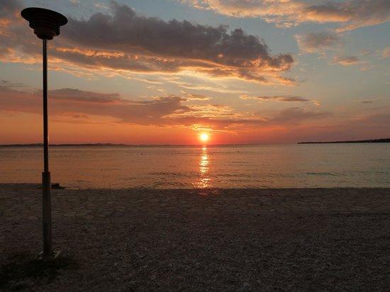 Villa Punta: Sonnenuntergang