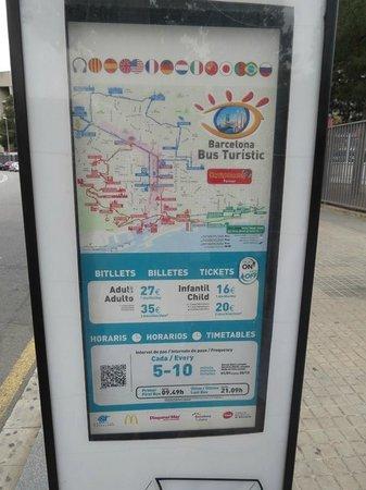 Barcelona Bus Turistic: Sign