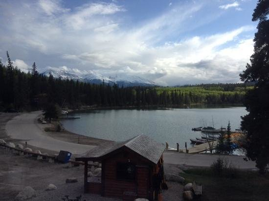 Pyramid Lake Resort : View from the restaurant