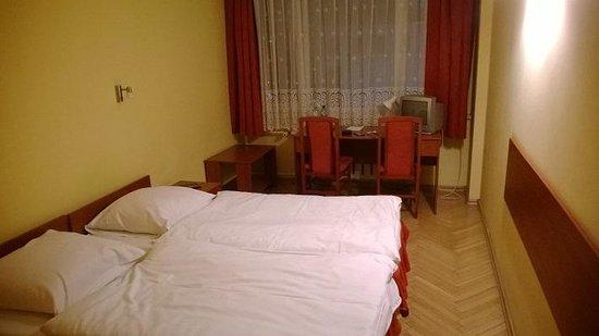 Hotel Katowice : pokój