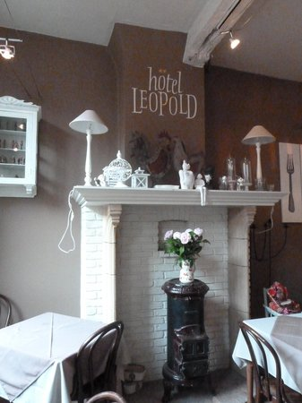 Hotel-Flats Leopold : salle à manger