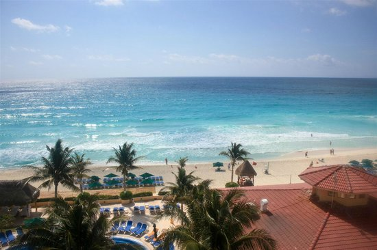 GR Solaris Cancun: View from room 8254