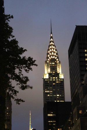 Family In New York: The Chrysler Building