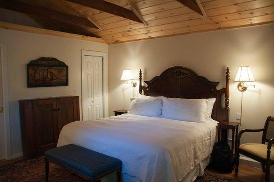 Marshall Slocum Inn : Our room in the garden