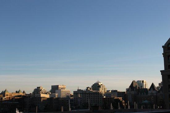 Best Western Plus Inner Harbour : Great view from upper floors