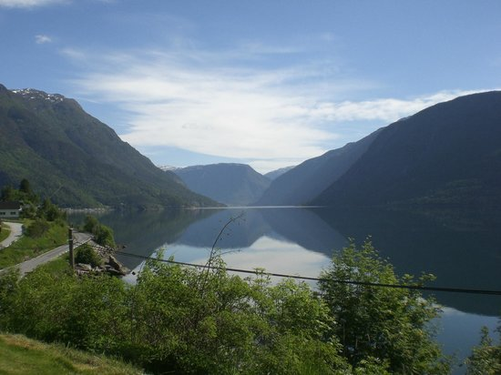 Sogn Fjordhytter: View from the cabin