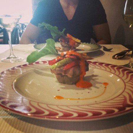 Bambi Gourmet : Puré de batata con bonito y mojo