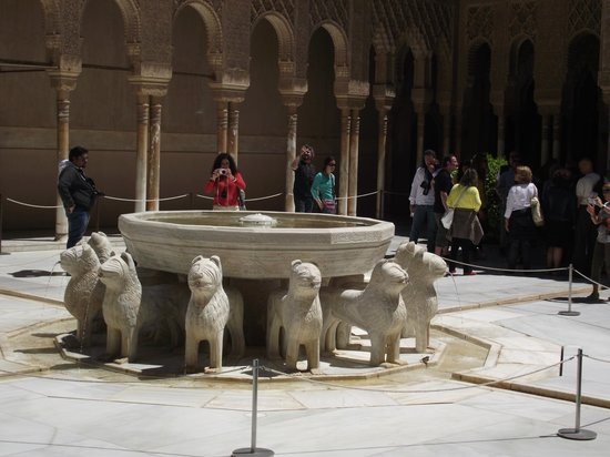 Granavision Excursions : Alhambra lions